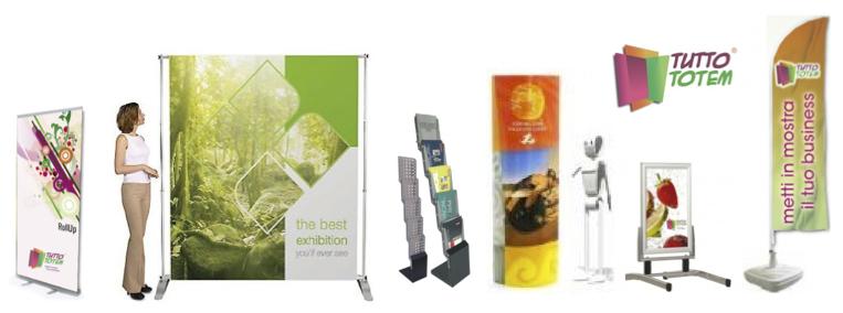 6 consigli per l'acquisto di Totem Pubblicitari