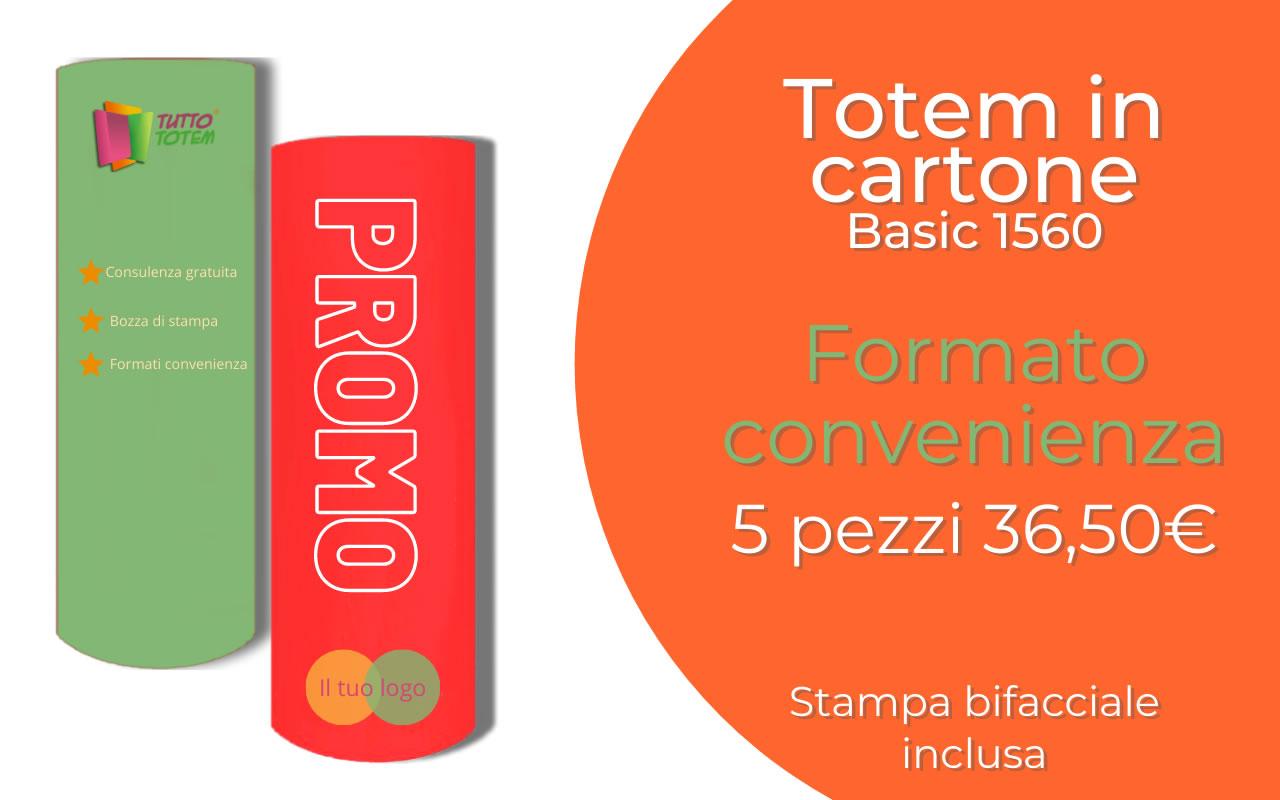 Occasione Totem in Cartone Basic 1560