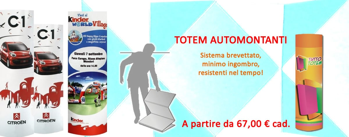 Promo Totem Automontanti Tuttototem.it
