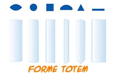 forme Totem Pubblicitari Lamà